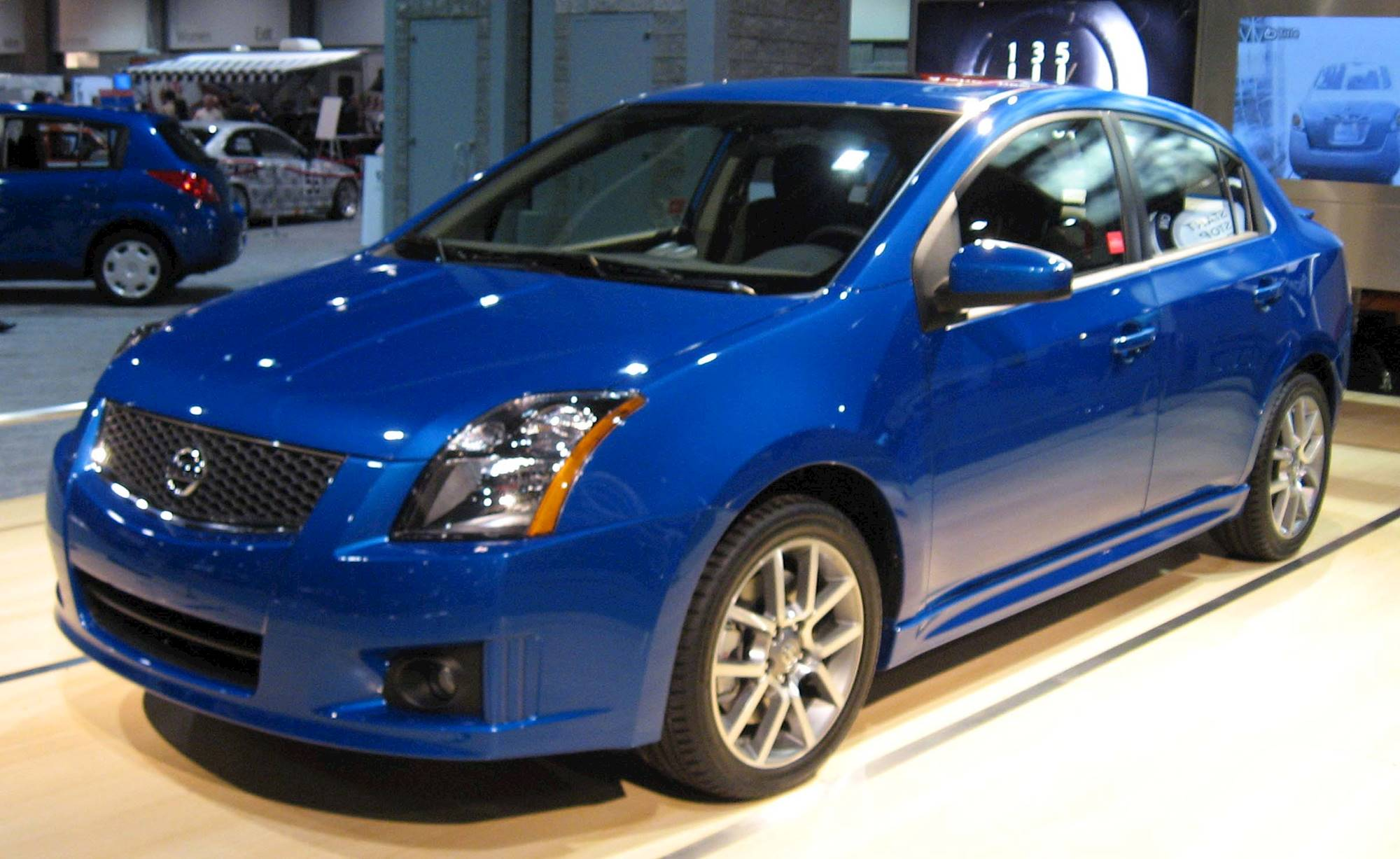 2008 Nissan Sentra Se R Spec V Sedan 2 5l Manual