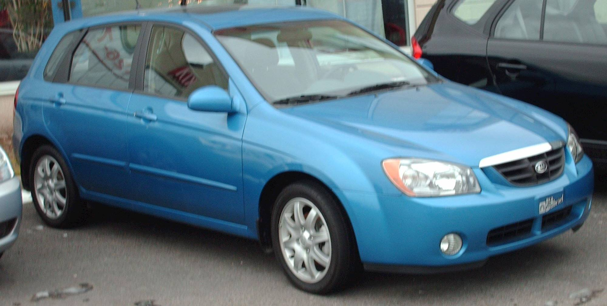 2005 Kia Spectra 5 Door Hb Automatic