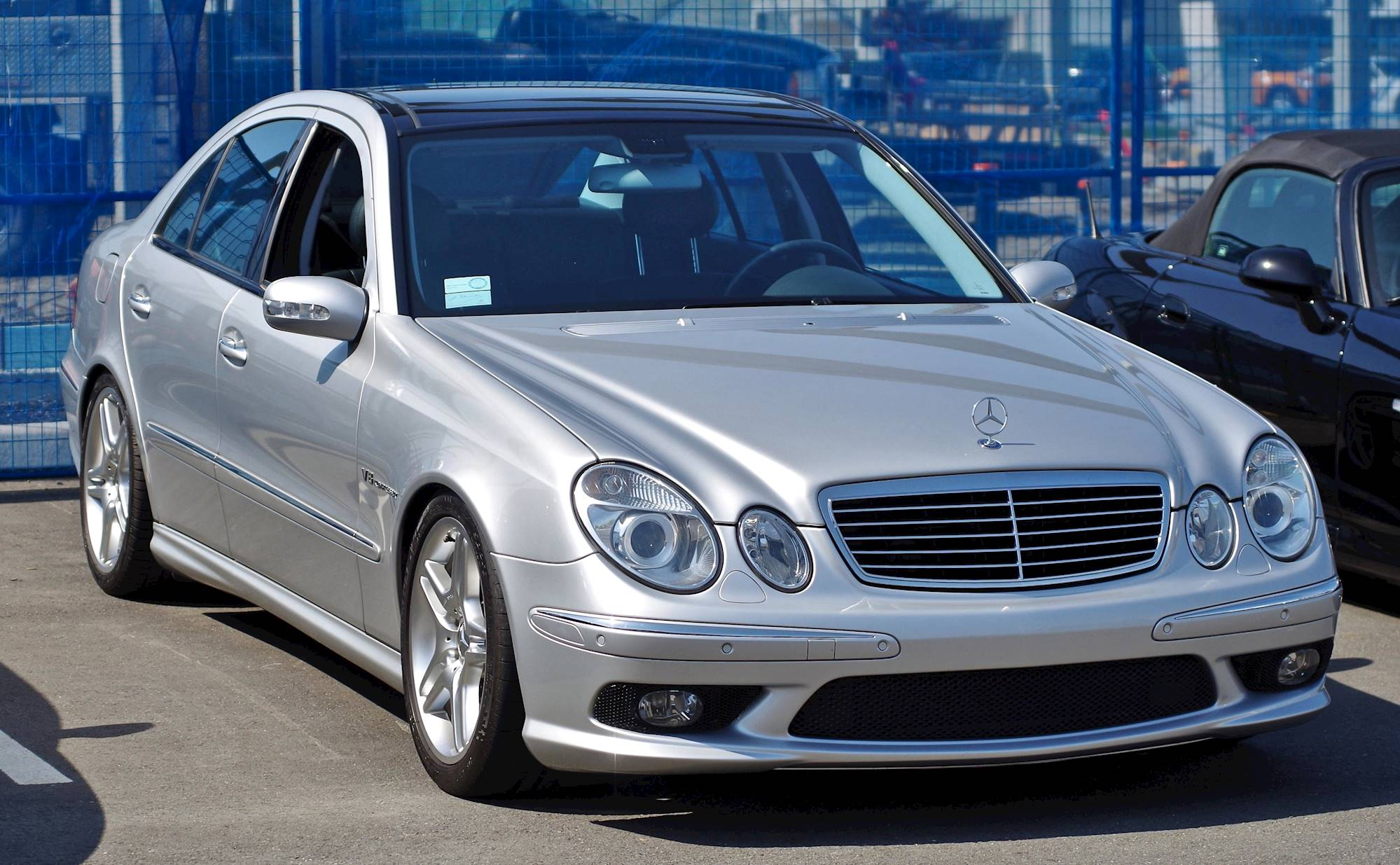 2004 Mercedes Benz E55 AMG Base 4dr Sedan 5 spd AMG Speed Shift w OD