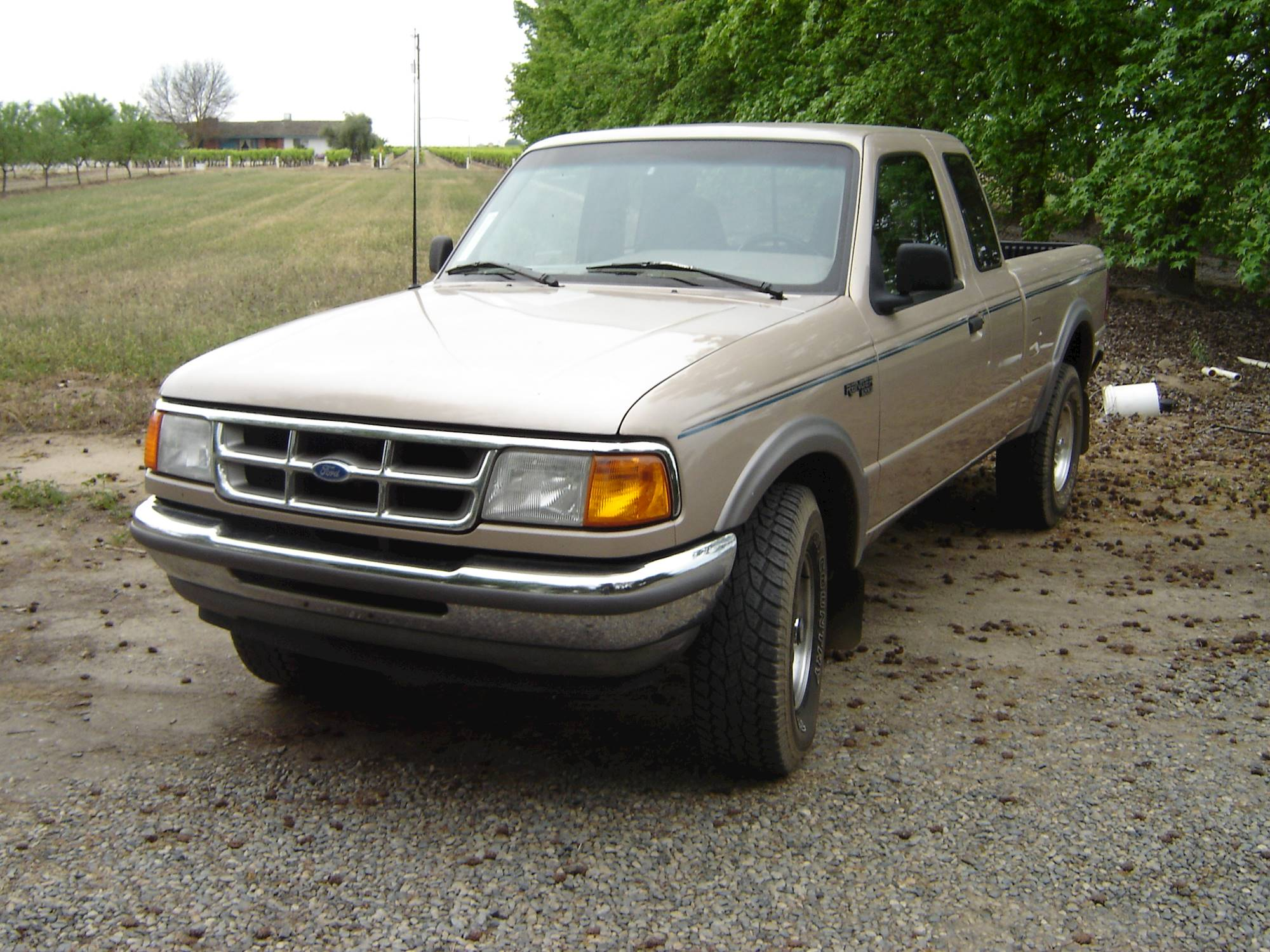 1999 Ford Ranger XLT 4x2 Super Cab 5.75 ft. box 125.7 in. WB 5-spd manual  w/OD