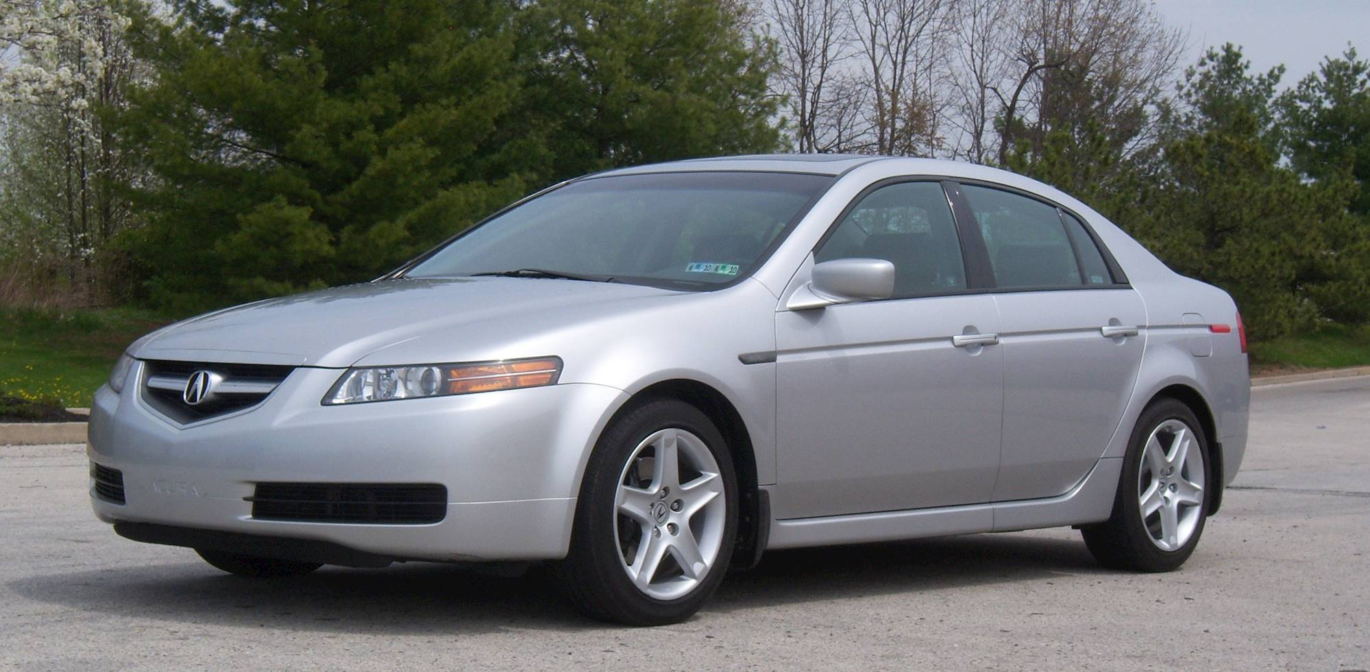 2006 Acura TL Base Sedan 3 2L V6 auto