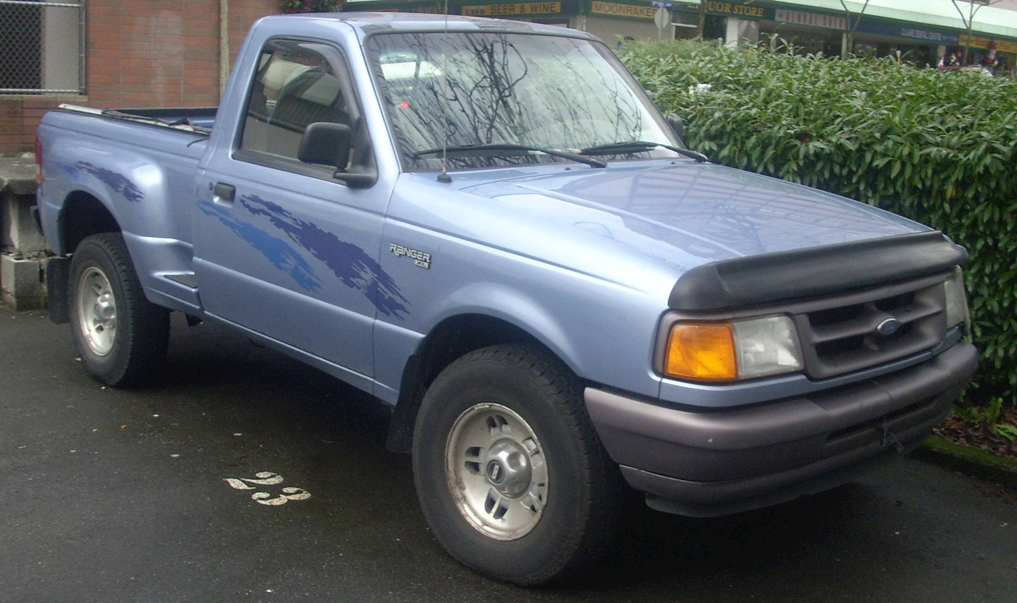 ranger ford 97 cab 95 xl regular 1997 xlt file 3l manual measurements single commons source pickup 2000 wikimedia