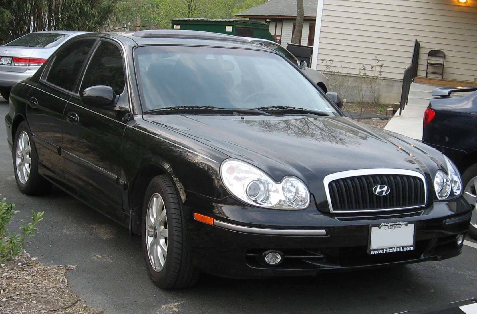 2003 hyundai sonata base sedan 2 7l v6 auto. Black Bedroom Furniture Sets. Home Design Ideas
