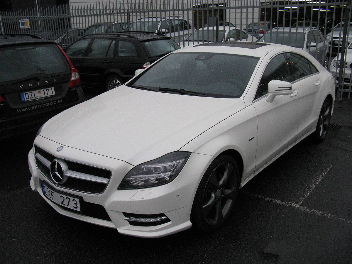 2012 Mercedes Benz Cls Class Cls 550 4matic Sedan 4 7l