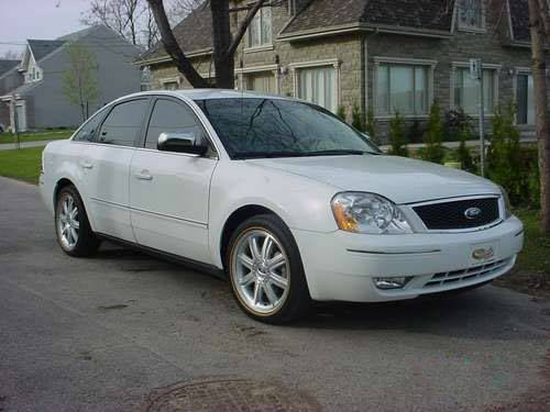 2007 ford 500 sel specs