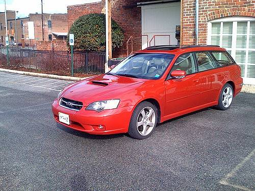 2005 Subaru Legacy 2 5i Limited Sedan 2 5l Awd Auto