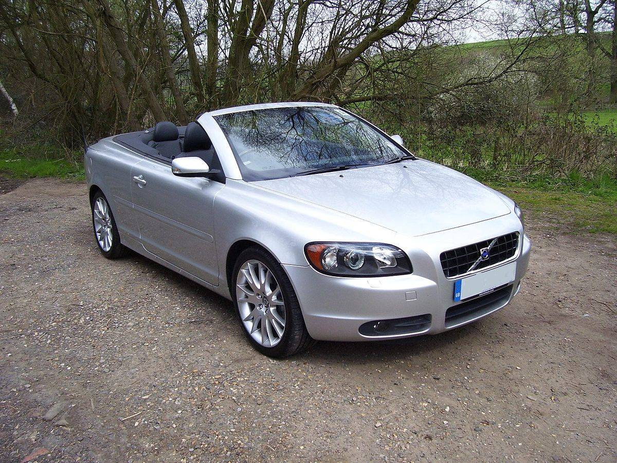 2010 volvo c70 t5 convertible 2 5l turbo manual. Black Bedroom Furniture Sets. Home Design Ideas