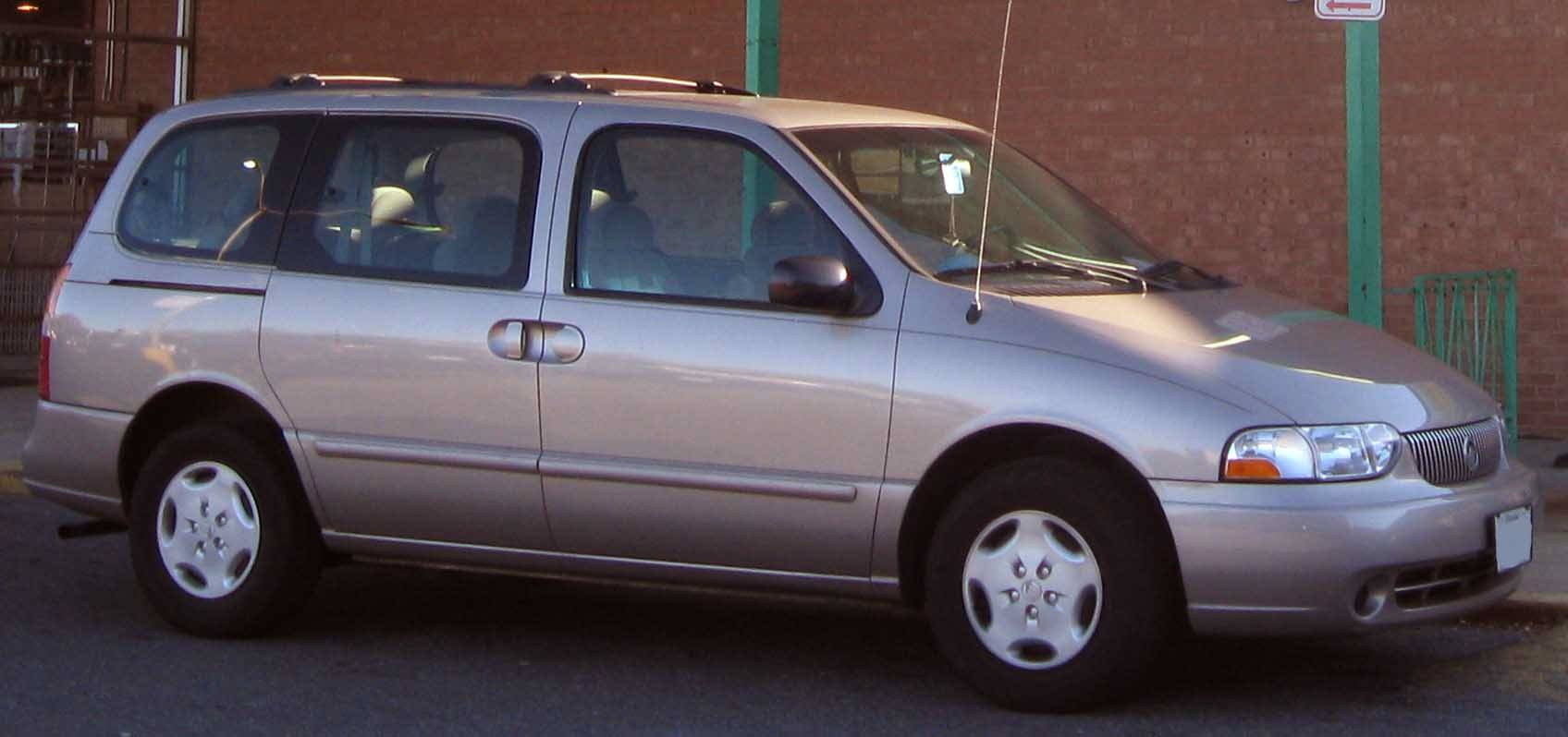 2002 Mercury Villager 1999
