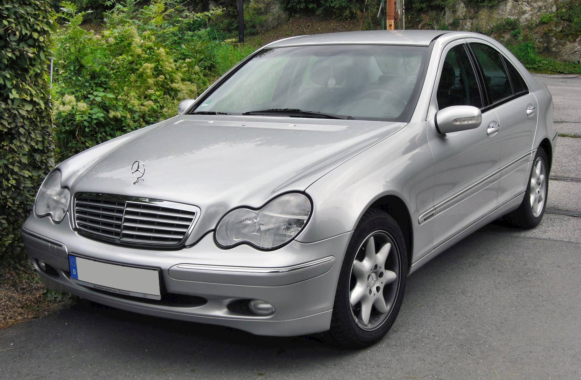 2005 Mercedes Benz C230 Kompressor Sport 4dr Sedan 6 Spd Manual W Od