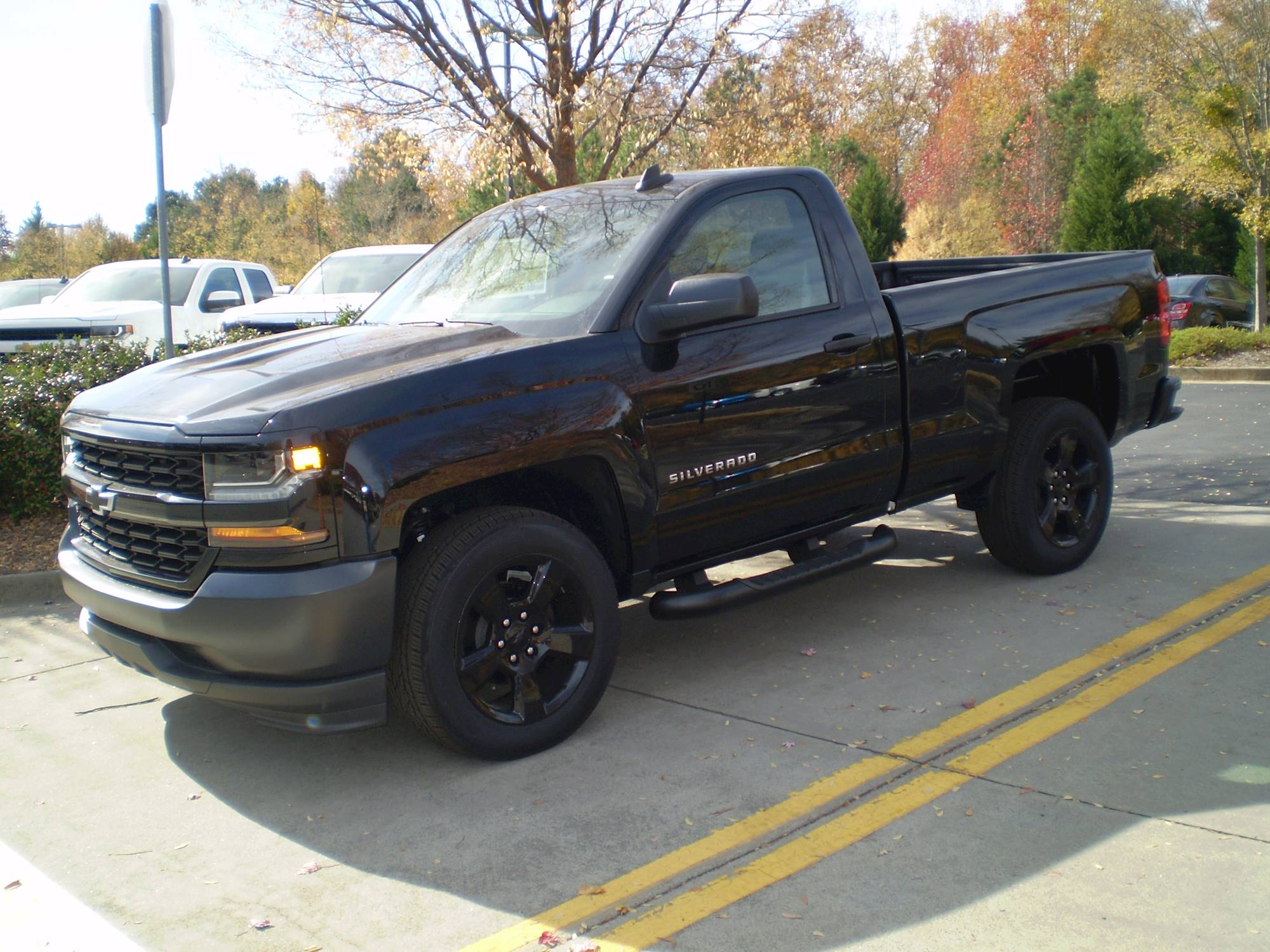 "2015 Chevrolet Silverado 1500 Double Cab >> 2015 Chevrolet Silverado 1500 2WD Crew Cab 143.5"" High Country"