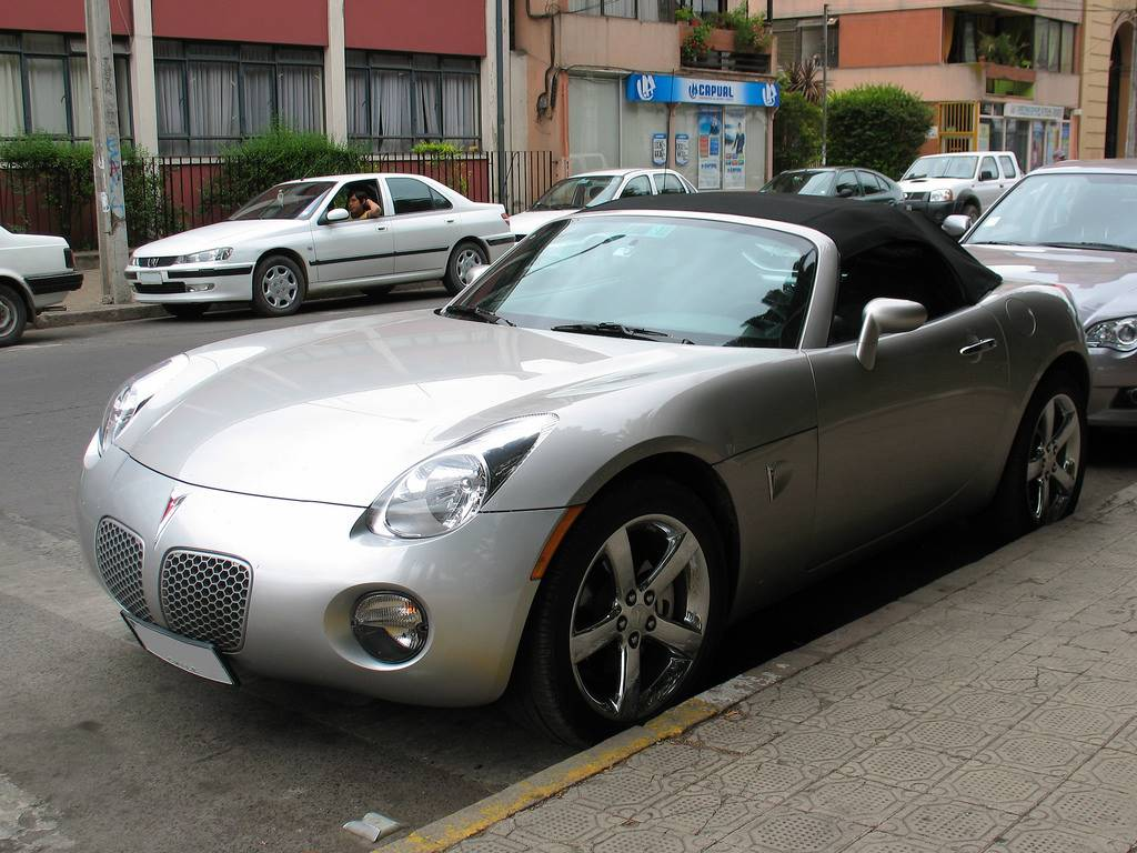 2008 Pontiac Solstice Gxp Convertible 2 0l Turbo Manual