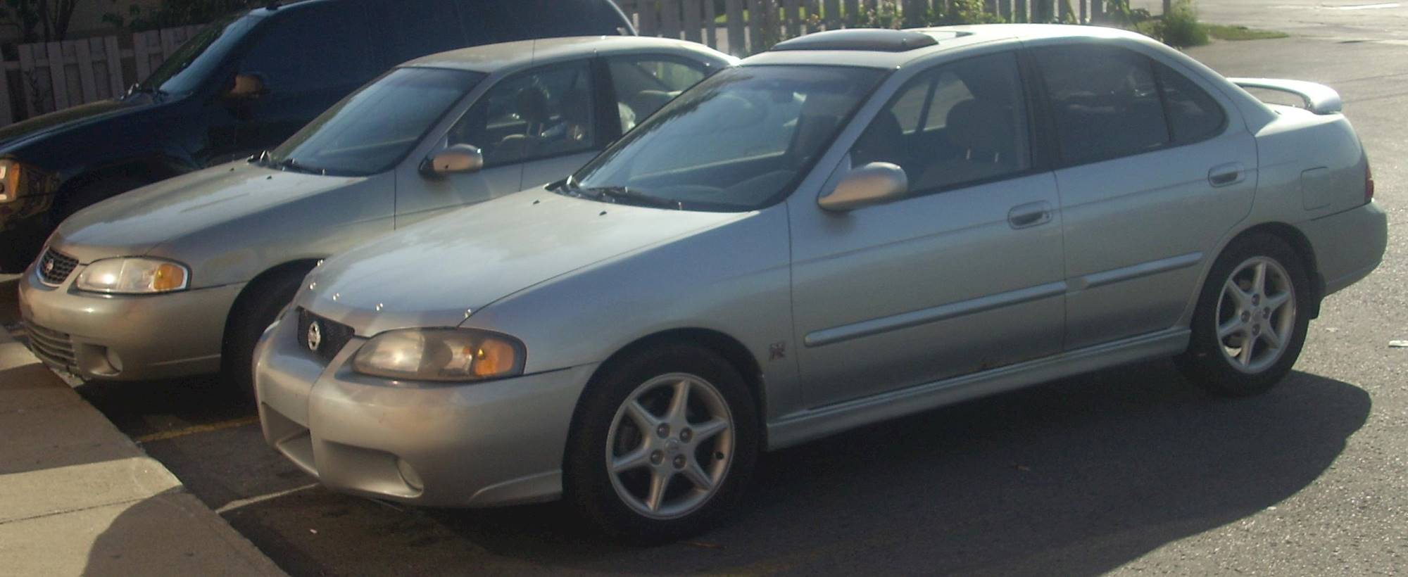 2002 Nissan Sentra Se R Spec V Sedan 2 5l Manual
