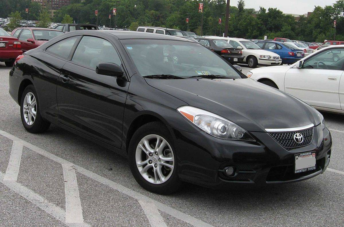 2007 toyota solara manual