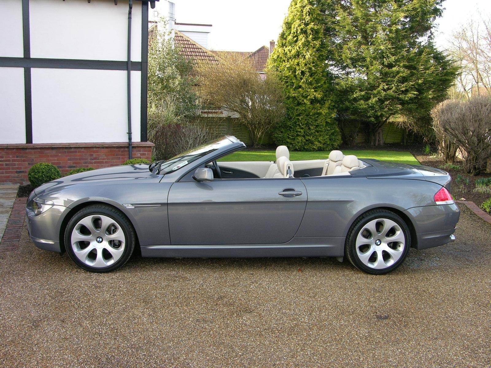 2005 Bmw 645 Ci 2dr Convertible 6 Od