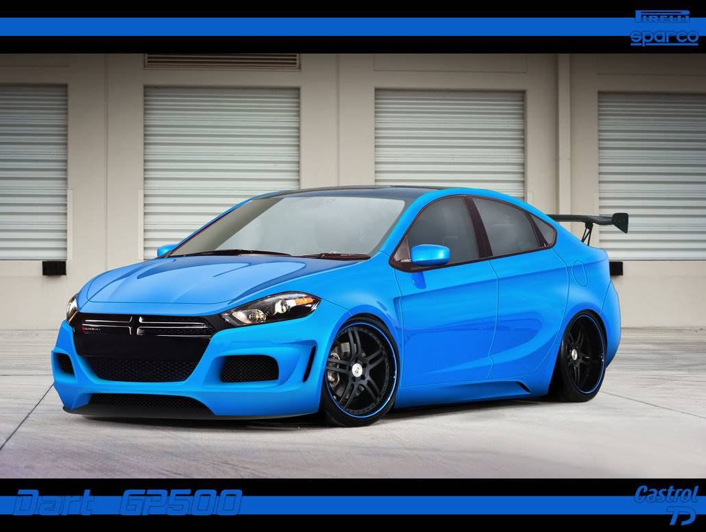 2016 Dodge Dart 4 Door Sedan Gt Sport Blacktop
