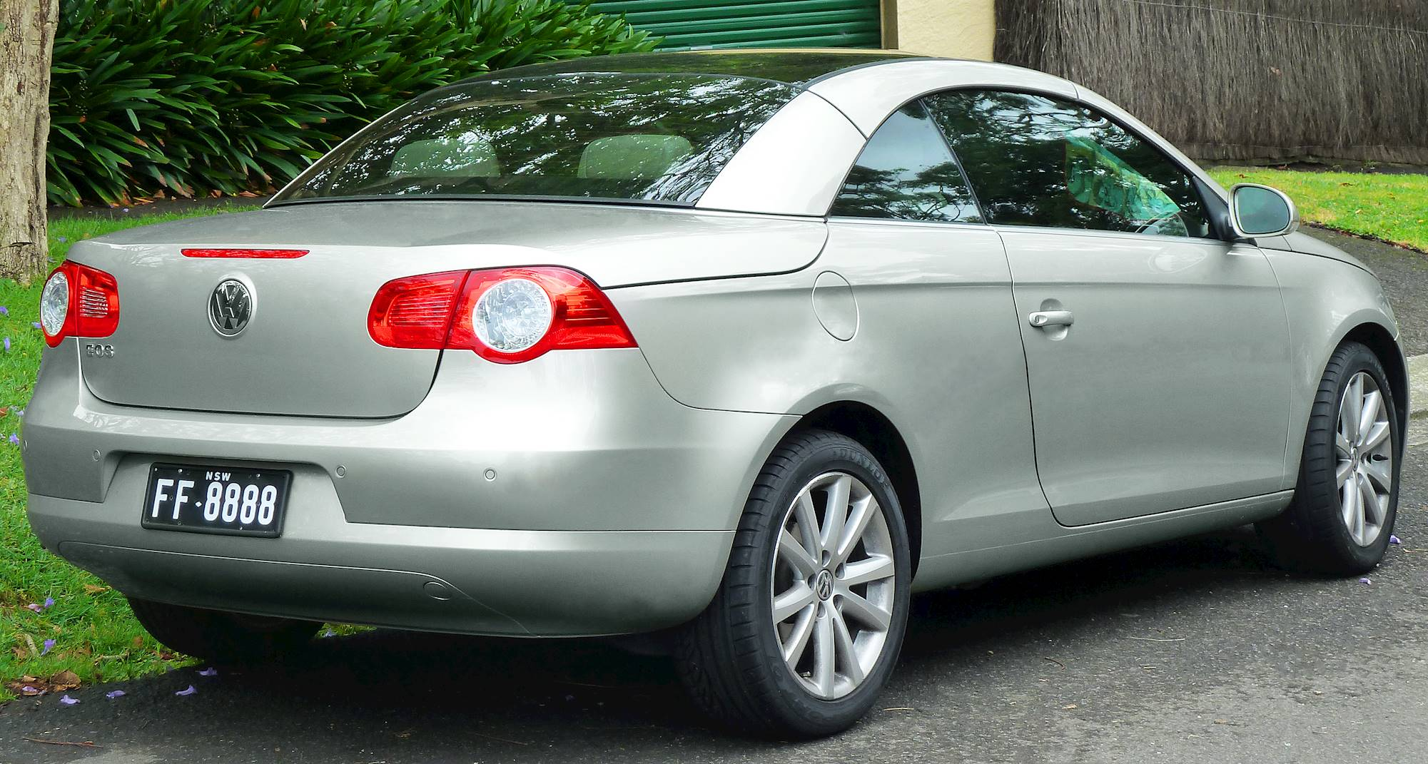 2008 Volkswagen Eos Vr6 Convertible 3 2l V6 Automated Manual