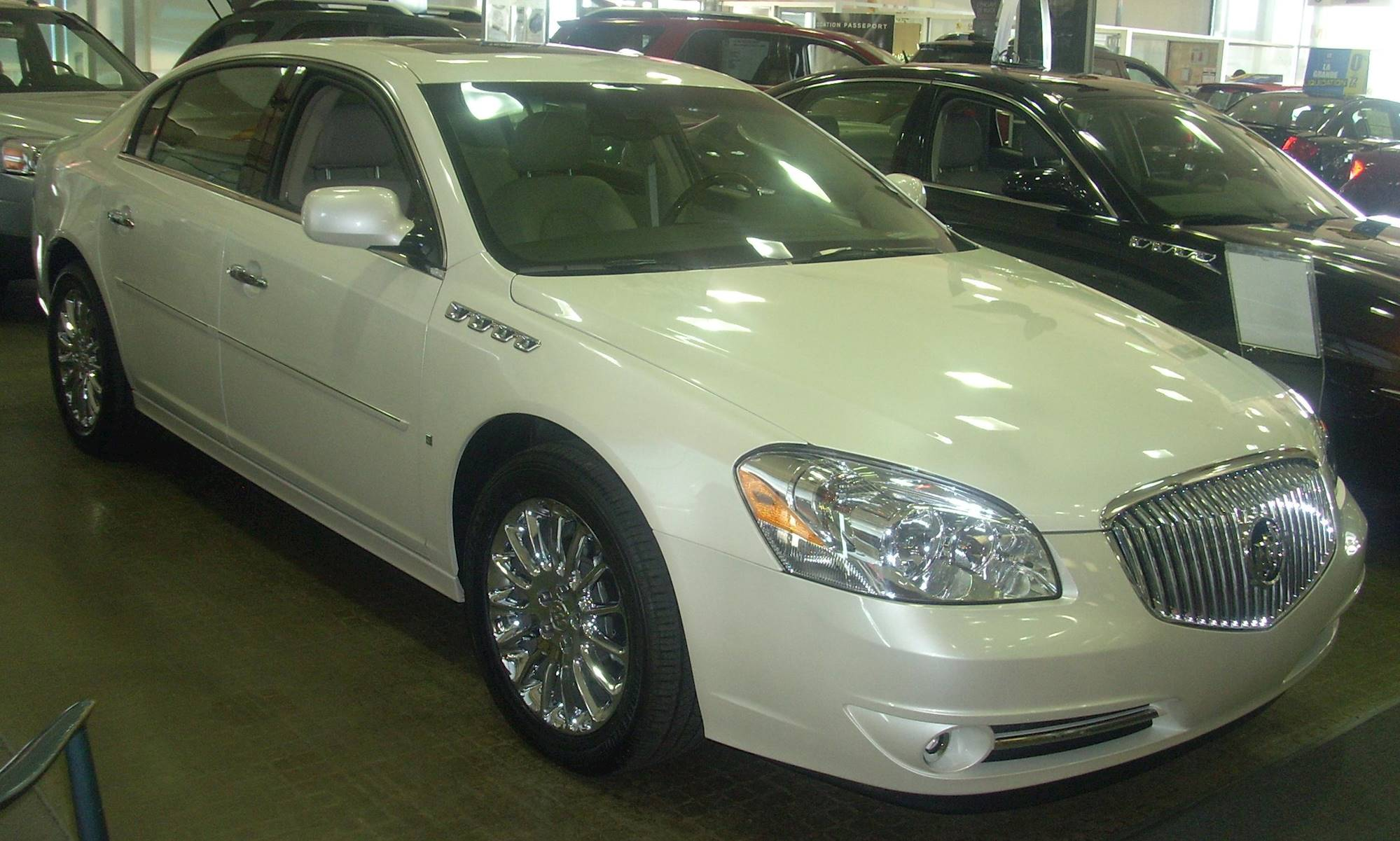 2008 buick lucerne cxl special edition sedan 3 8l v6 auto. Black Bedroom Furniture Sets. Home Design Ideas