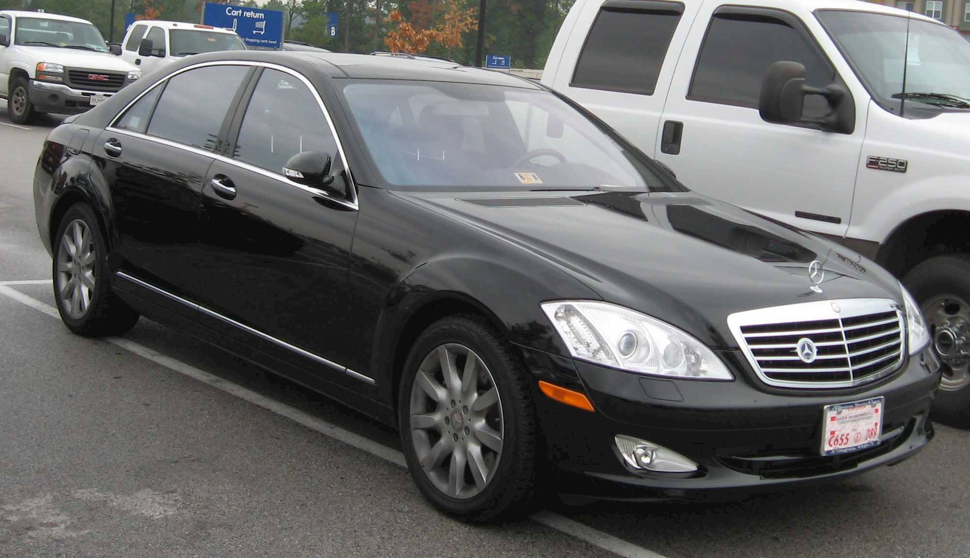 2007 Mercedes-Benz S550 Base 4dr All-wheel Drive 4MATIC ...