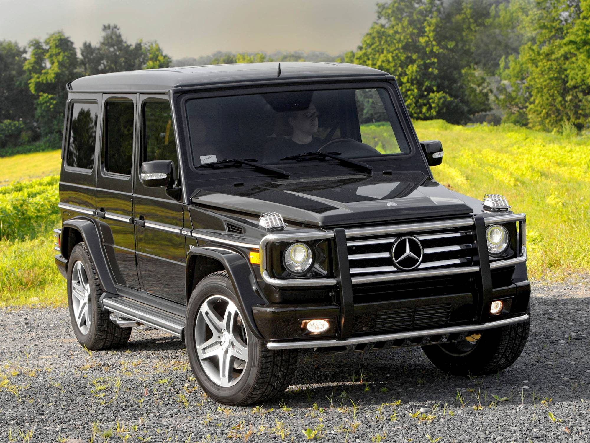 2010 Mercedes Benz G55 AMG Base 4dr All wheel Drive 4MATIC 5 spd