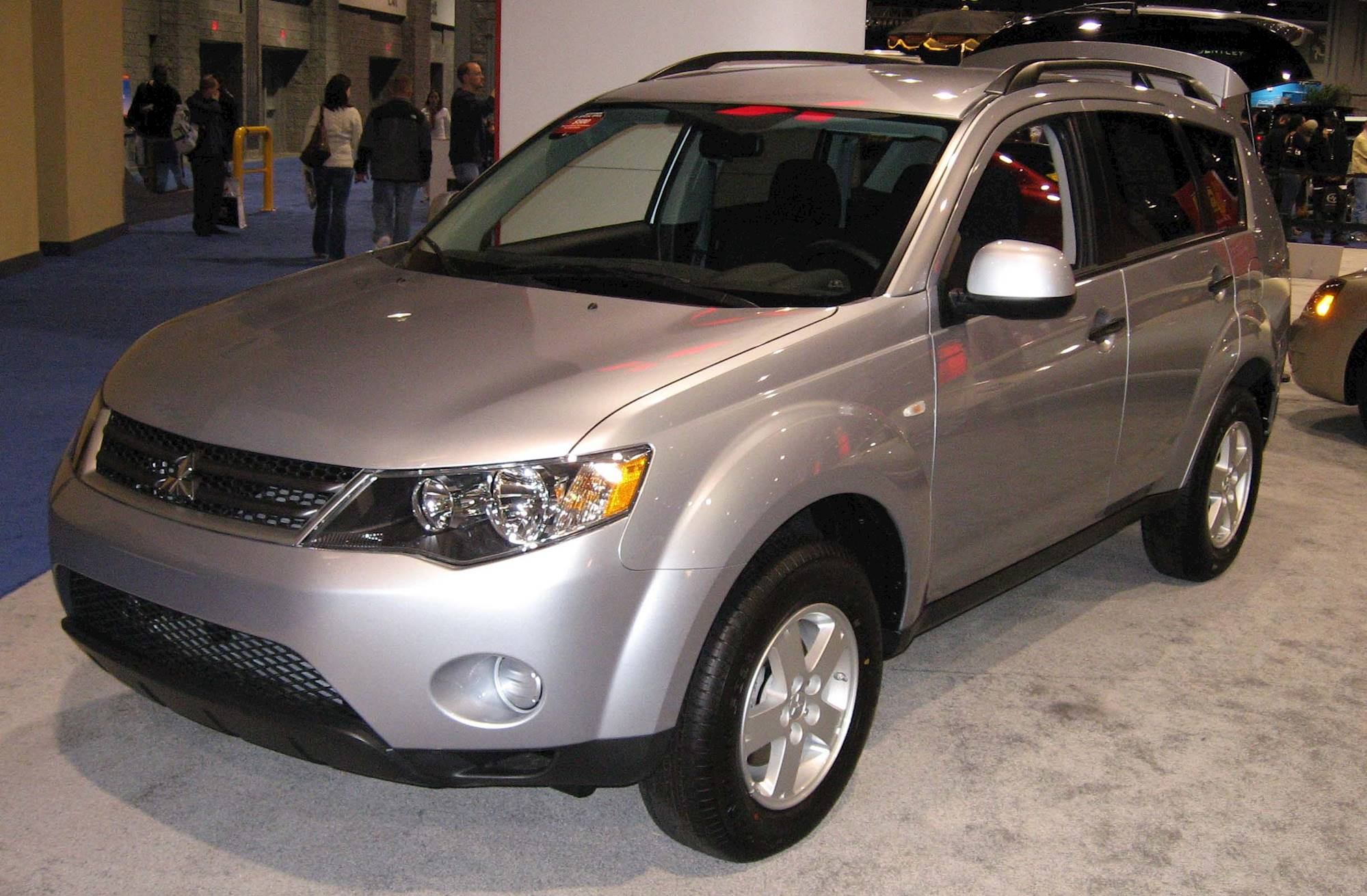 2007 mitsubishi outlander xls 4dr suv 3 0l v6 awd auto. Black Bedroom Furniture Sets. Home Design Ideas