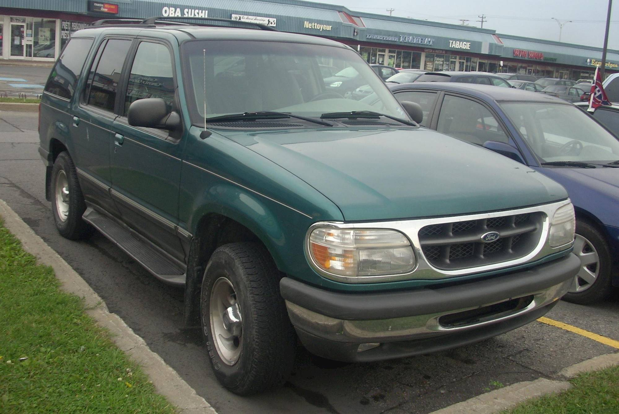 1996 ford explorer xlt 4dr suv 4 0l v6 manual