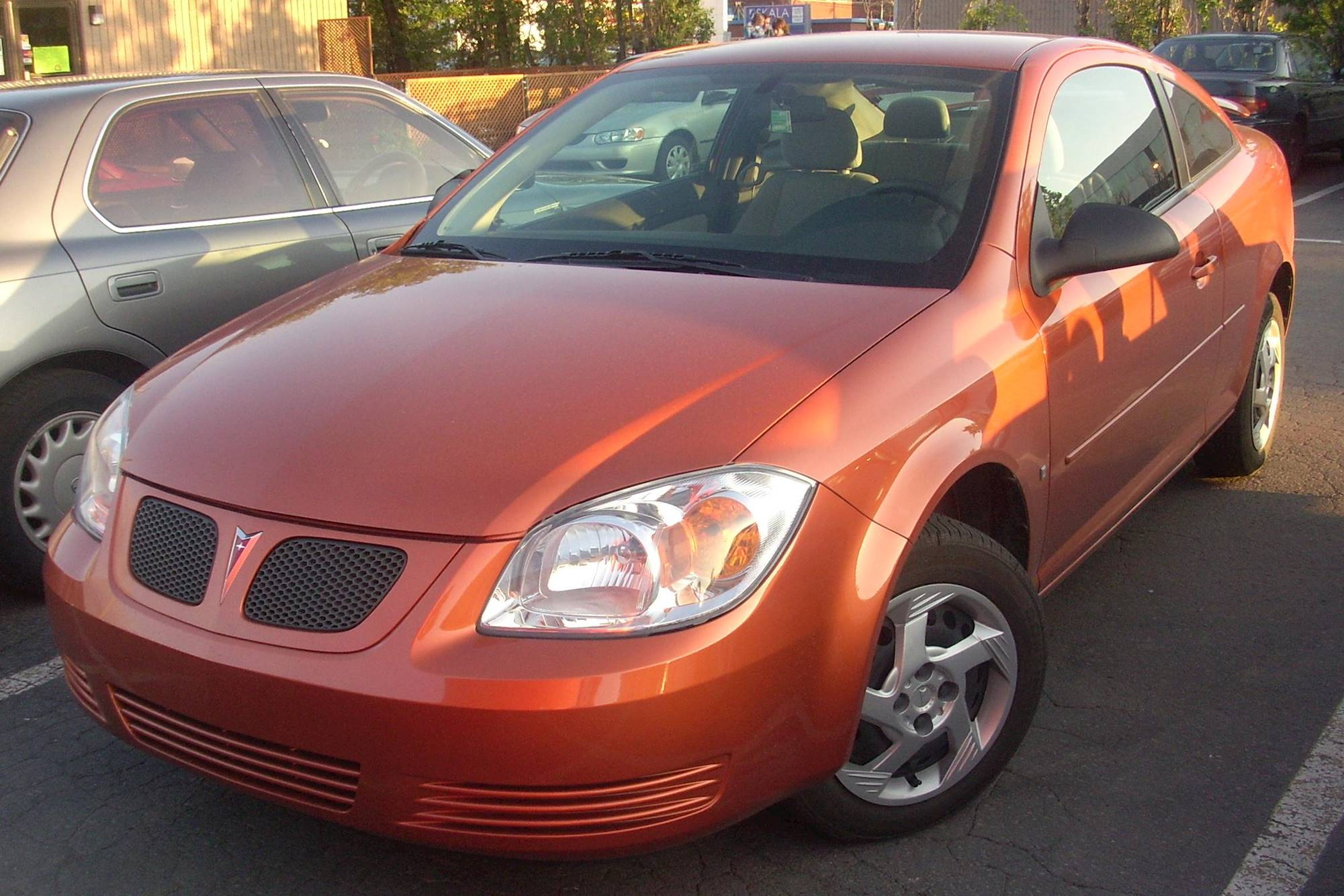 2008 Pontiac G5 Gt Coupe 2 4l Manual