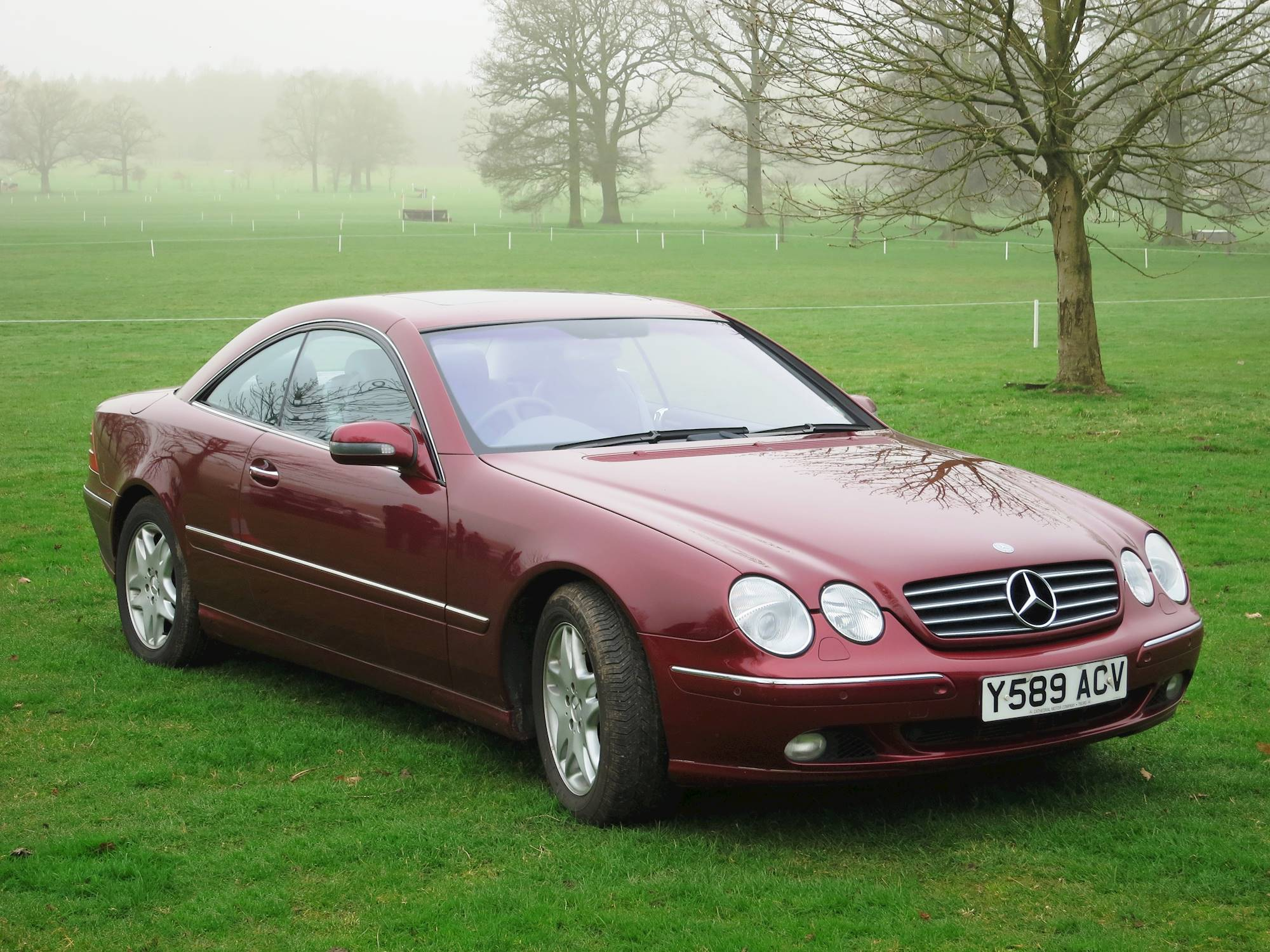 2001 Mercedes Benz CL500 Base 2dr Coupe 5 spd Touch Shift w OD