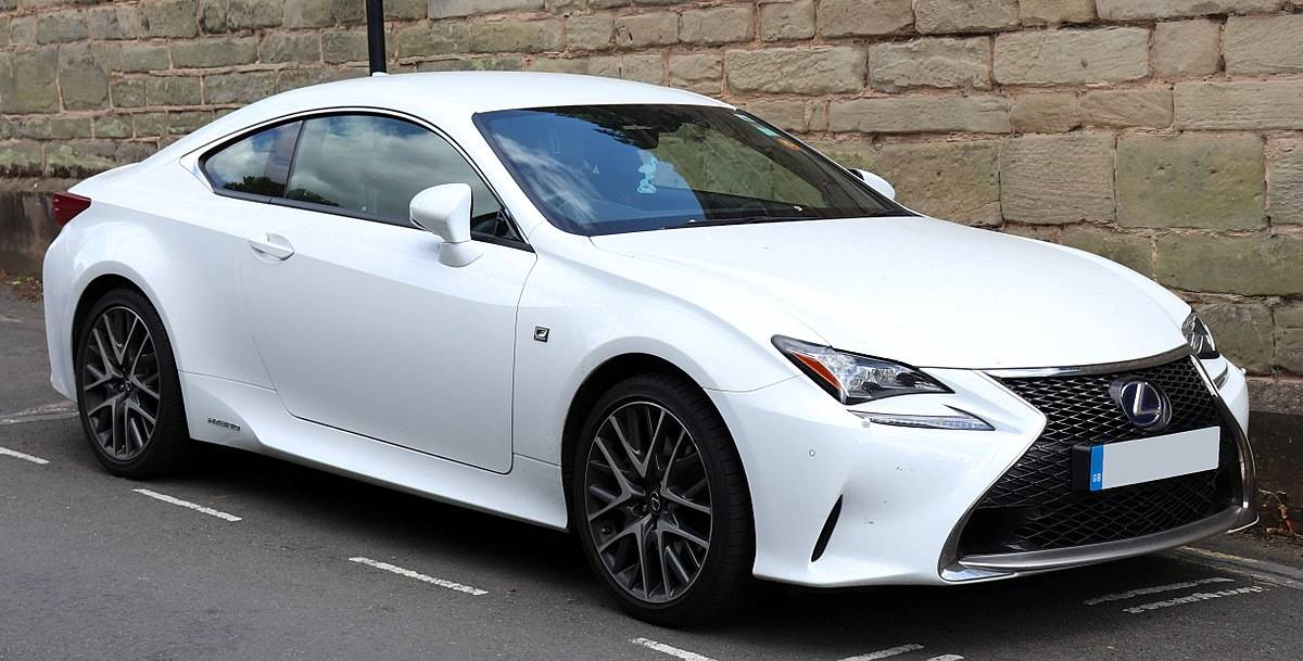 2016 Lexus RC 2-Door Coupe AWD