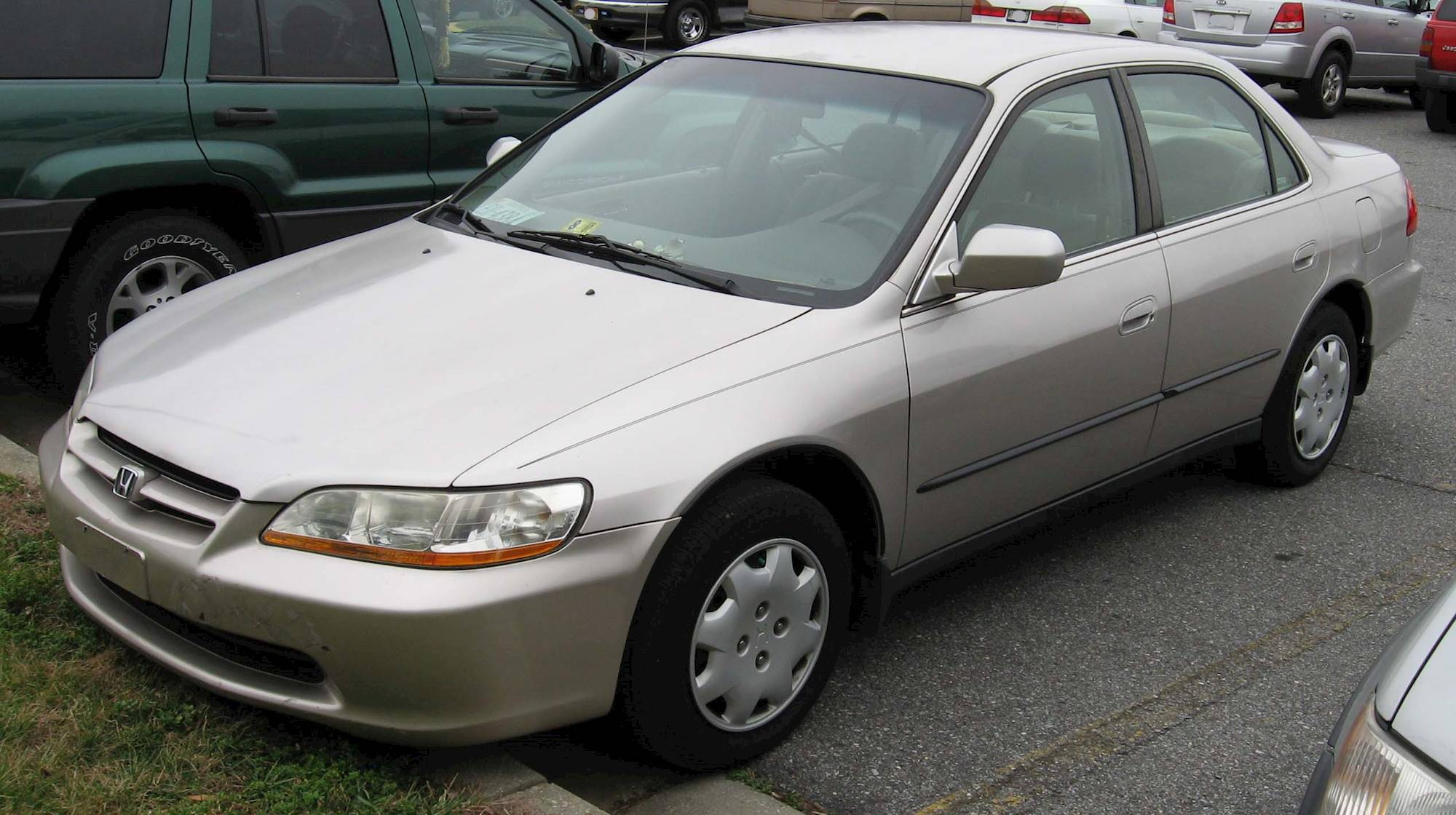 2000 honda accord ex v6 coupe curb weight