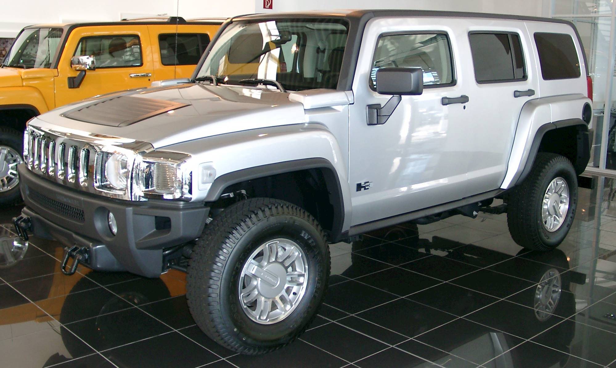 ... File:Hummer H3 front 20070518.jpg - Wikimedia Commons ...