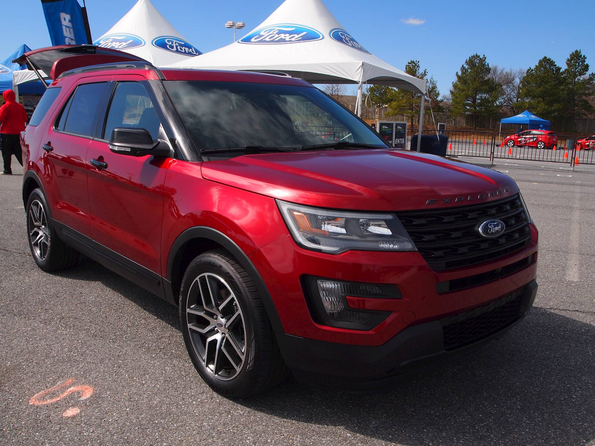 2017 Ford Explorer Mpg >> 2017 Ford Explorer Base 4WD