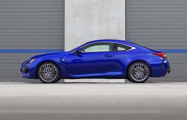 2015 Lexus RC F 2-Door Coupe