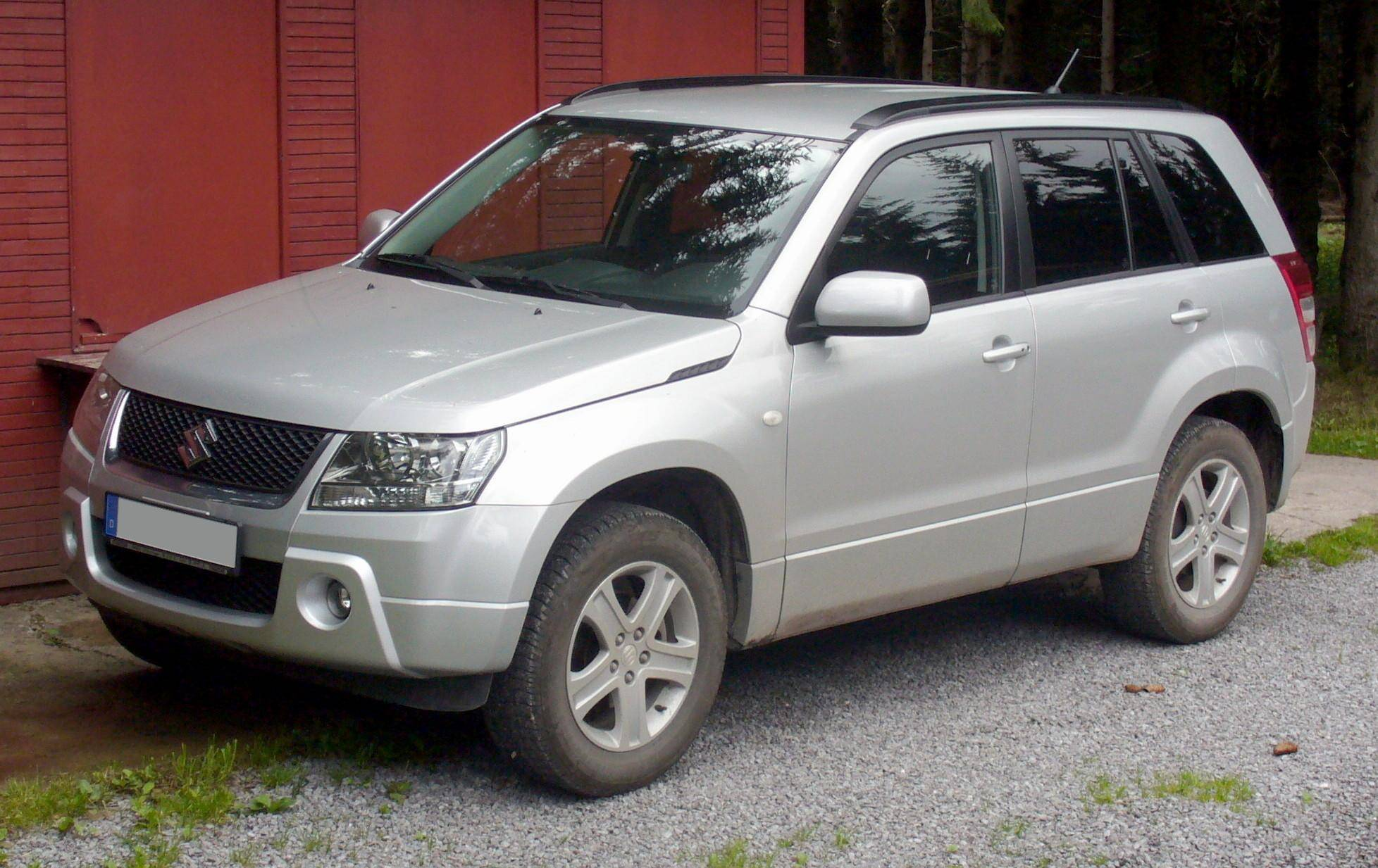 2007 suzuki grand vitara base 4dr suv 2 7l v6 4x4 manual. Black Bedroom Furniture Sets. Home Design Ideas