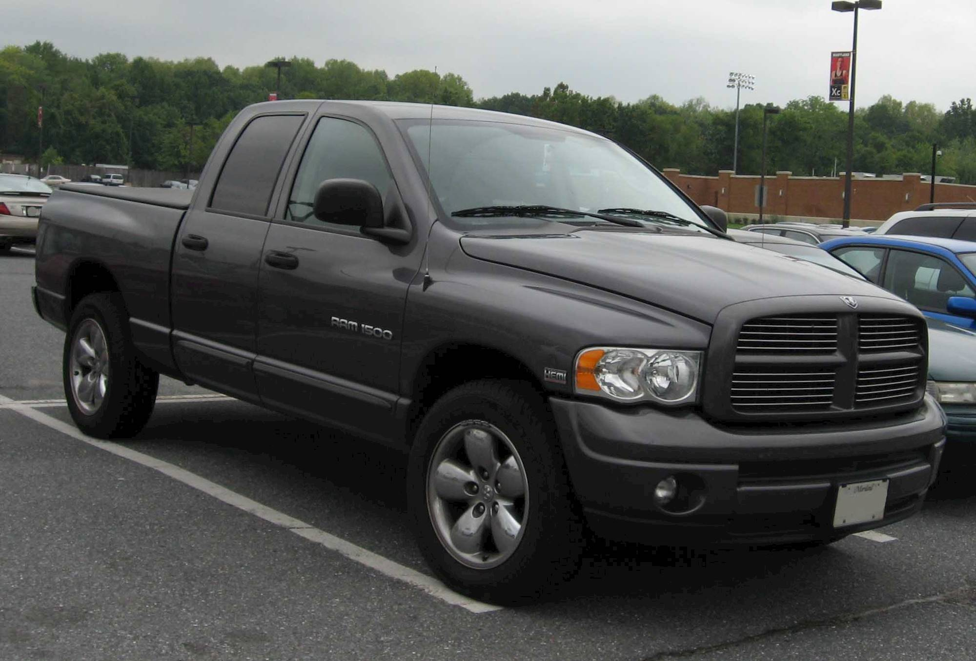 2003 Dodge Ram 1500 SLT Laramie 4x4 Quad Cab 140 5 in WB 5 spd manual w OD