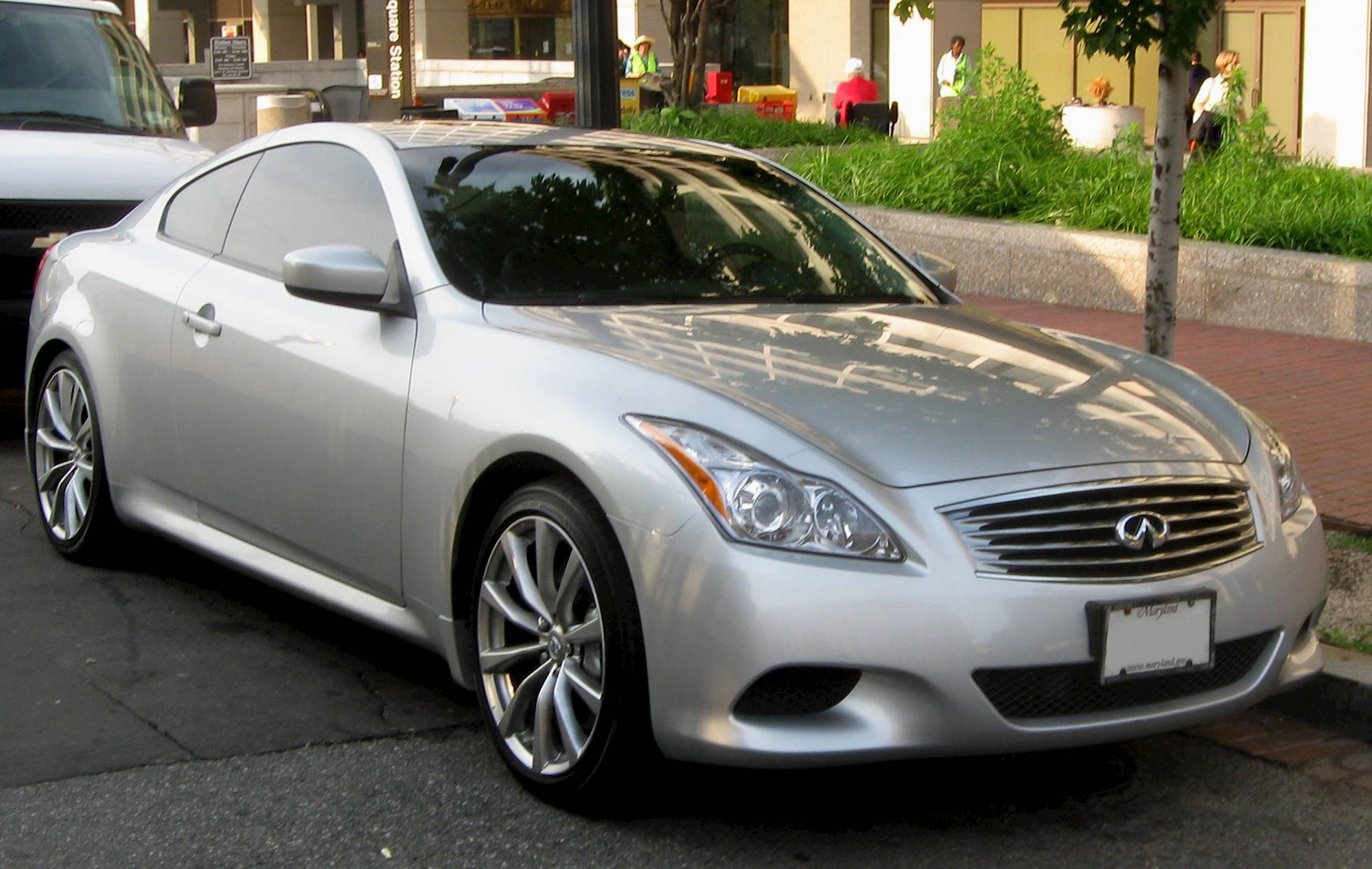 2008 Infiniti G37 Coupe Sport 2dr Rear-wheel Drive Coupe 6 ...