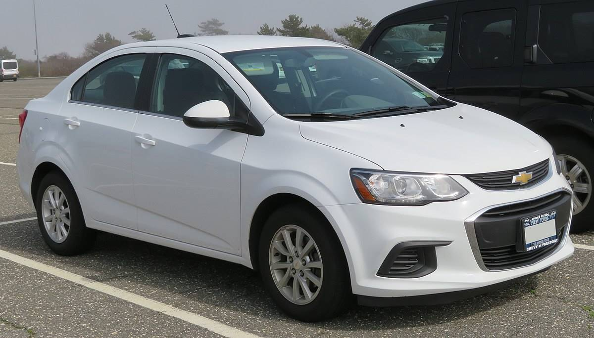 2018 Chevrolet Sonic 4-Door Sedan Manual LS