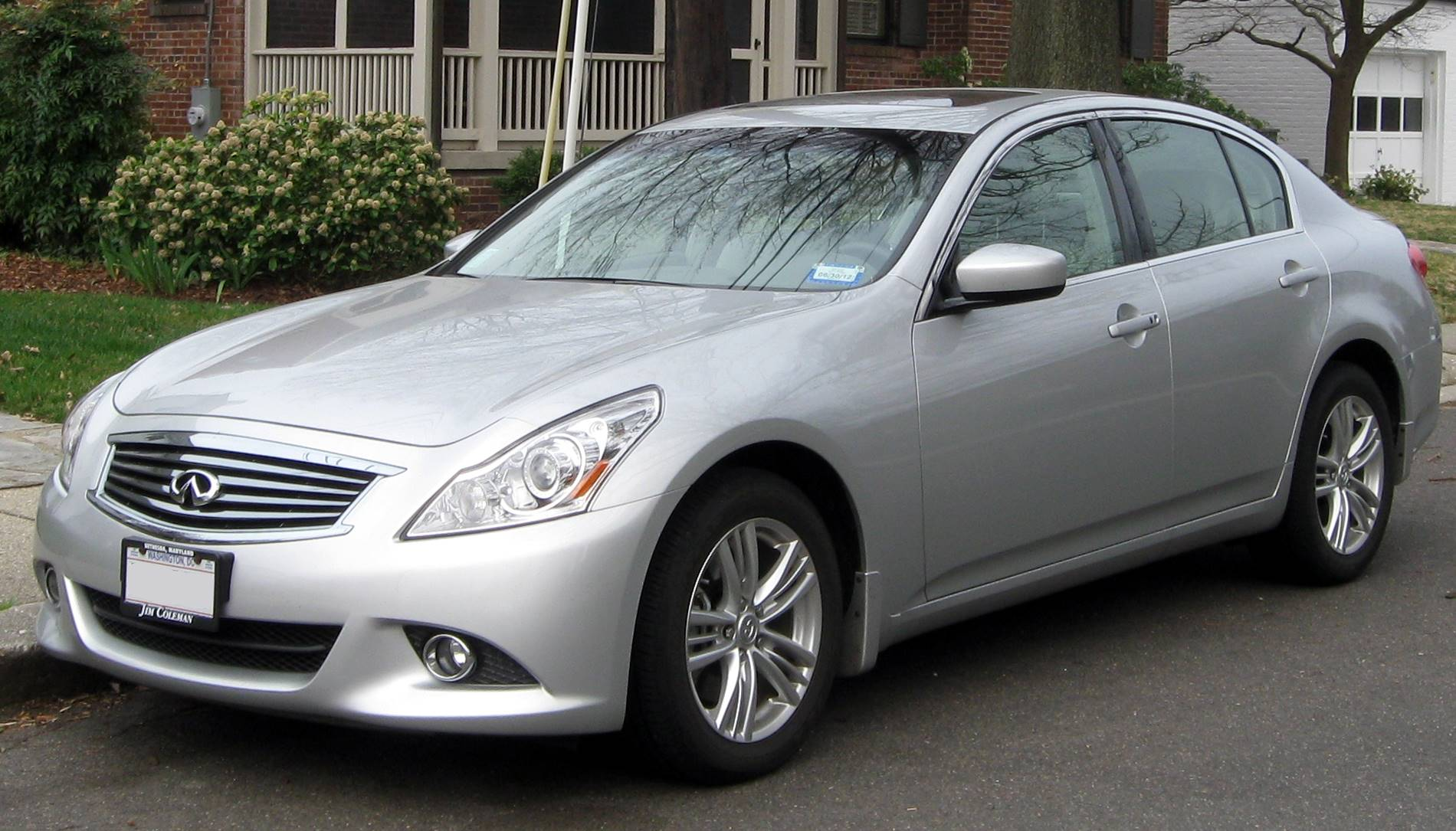 2010 infiniti g37 sedan x sedan 3 7l v6 awd auto. Black Bedroom Furniture Sets. Home Design Ideas