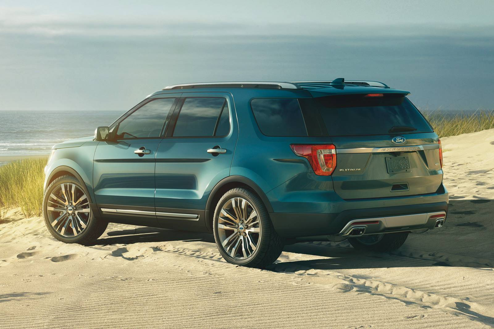 2016 Ford Explorer Colors