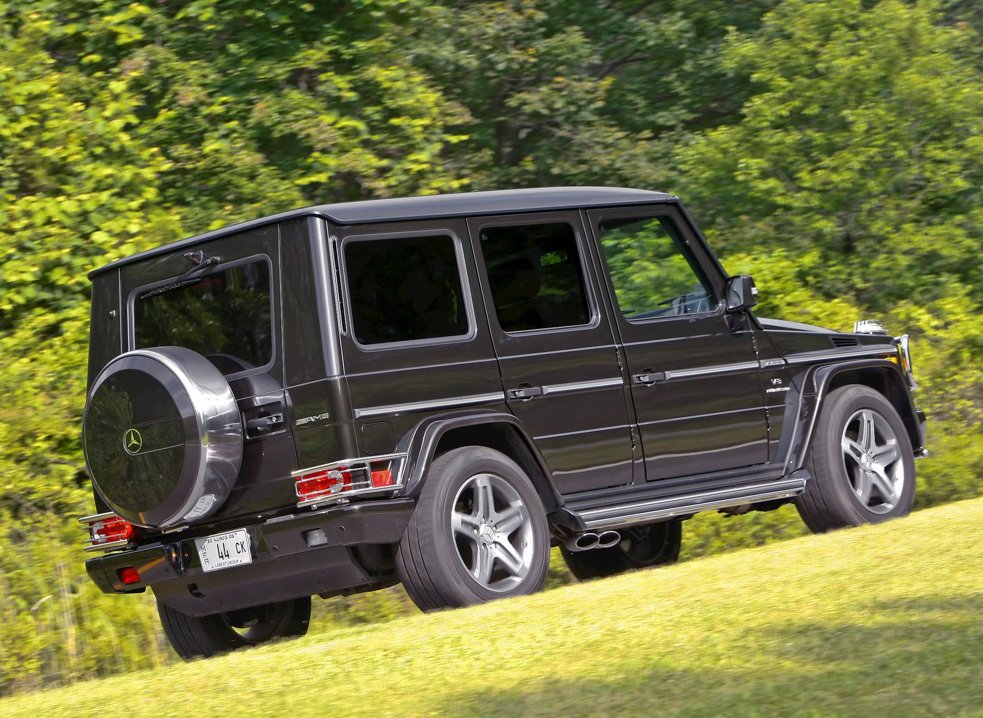 2008 Mercedes Benz G55 AMG Base 4dr All wheel Drive 4MATIC 5 spd
