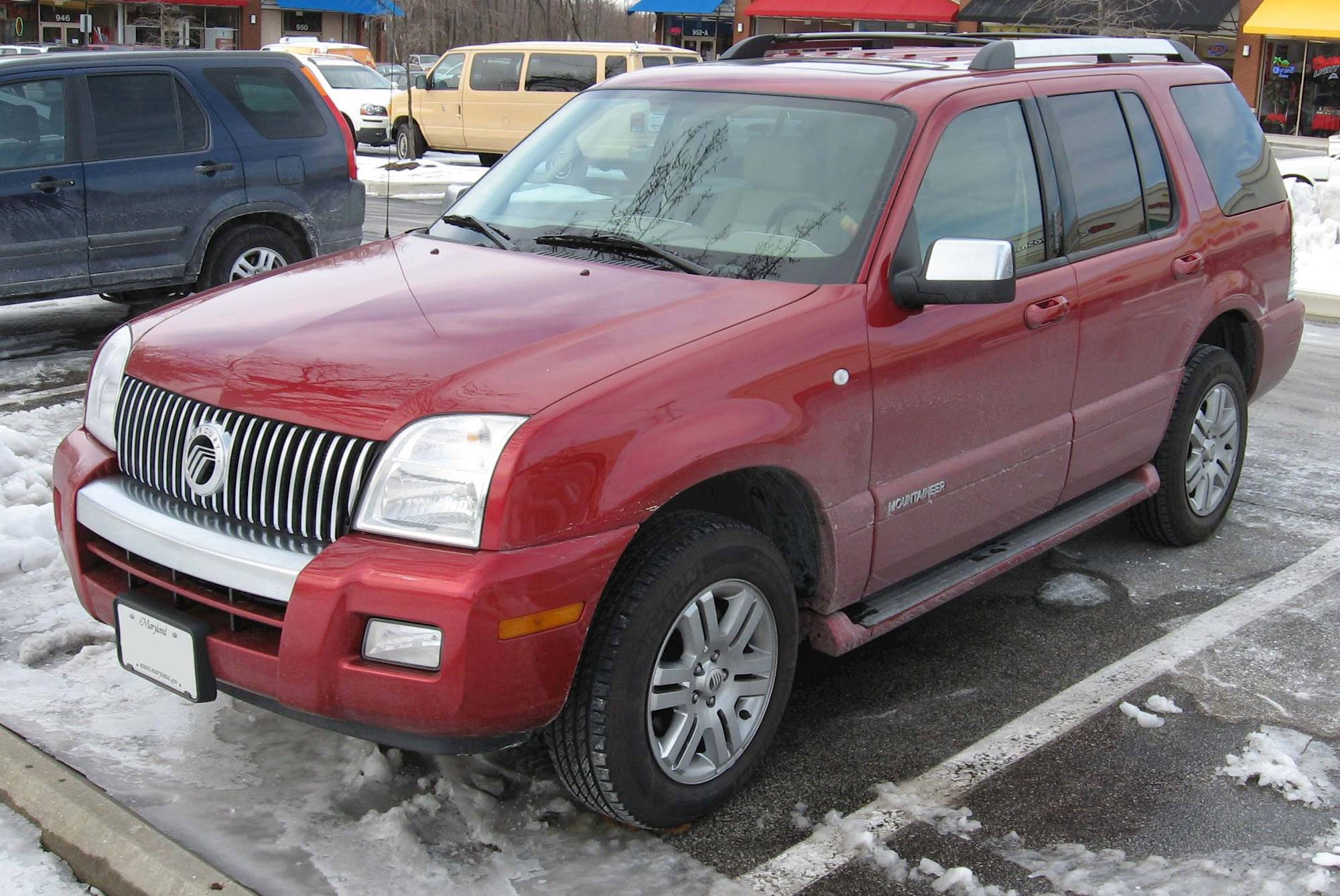 1998 mercury mountaineer 5.0 specs