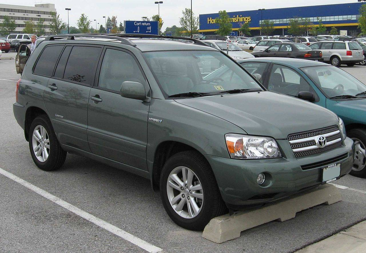 2006 Toyota Highlander Limited Hybrid For Sale Leather Moon Heated