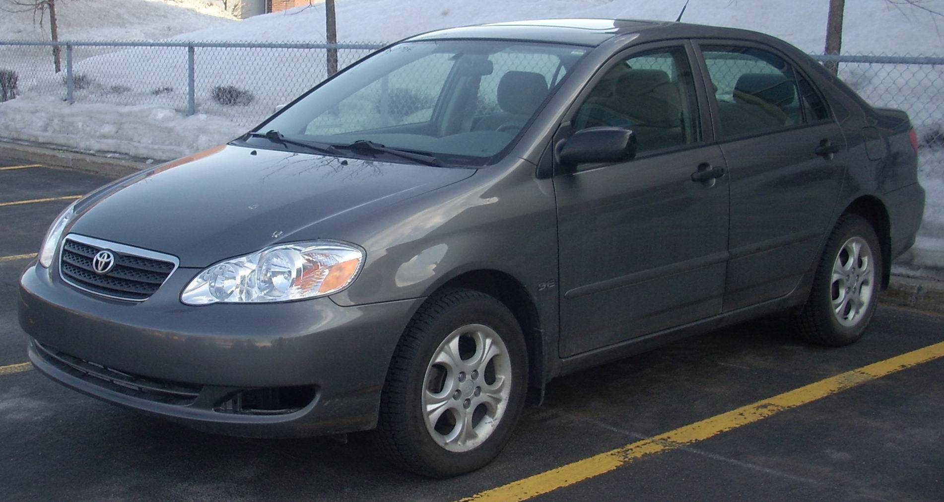 2005 Toyota Corolla Le Sedan 1 8l Manual