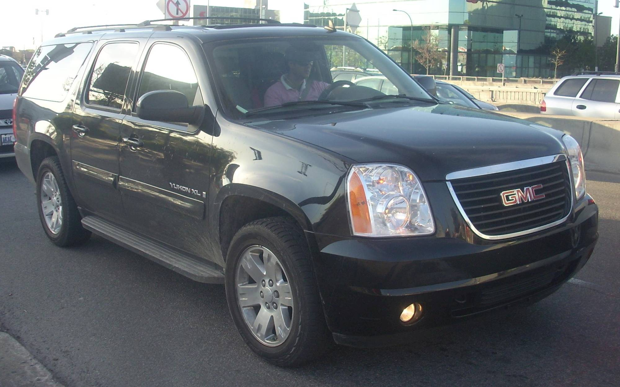 2007 gmc yukon slt w 4sa 4x2 4 spd auto w od. Black Bedroom Furniture Sets. Home Design Ideas