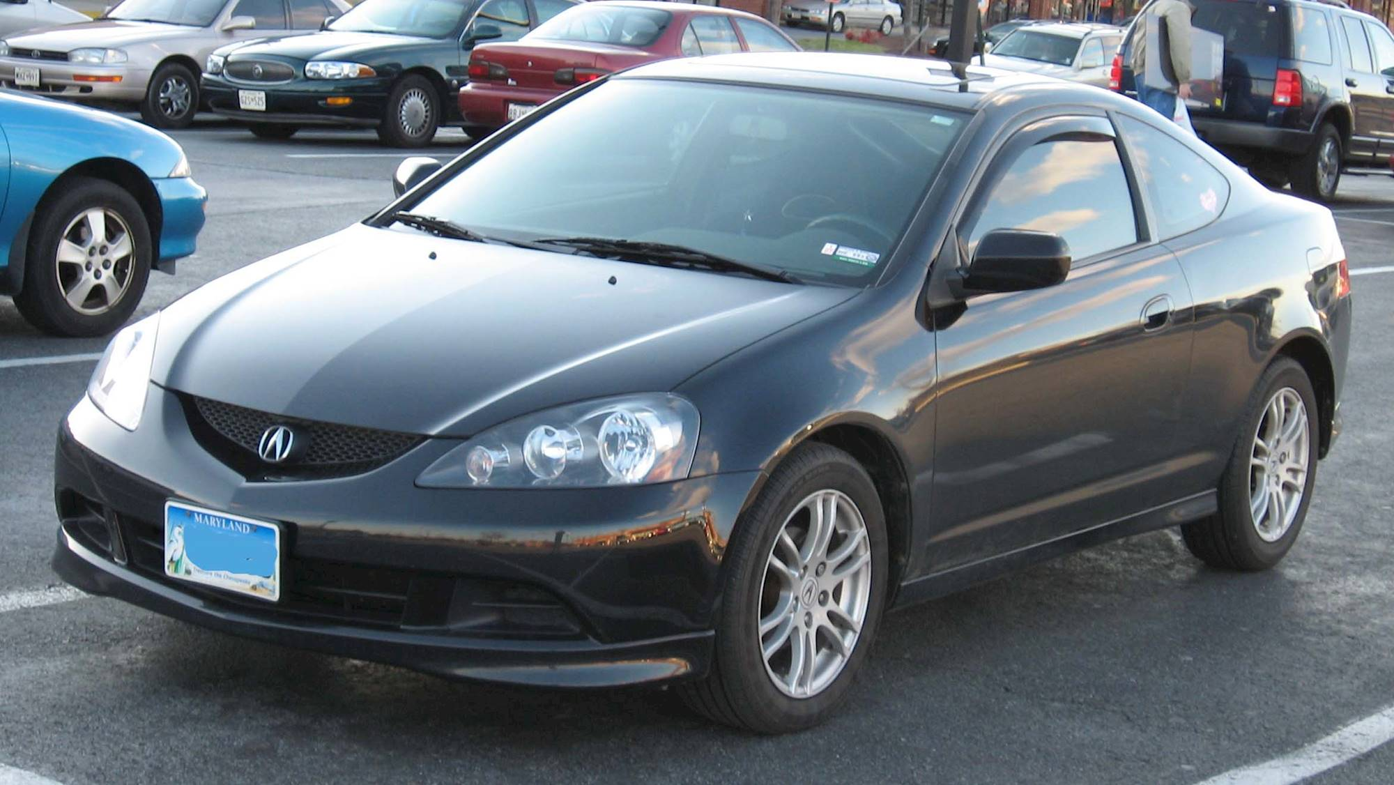 2006 Acura RSX Base - 2dr Hatchback 2.0L auto w/Leather