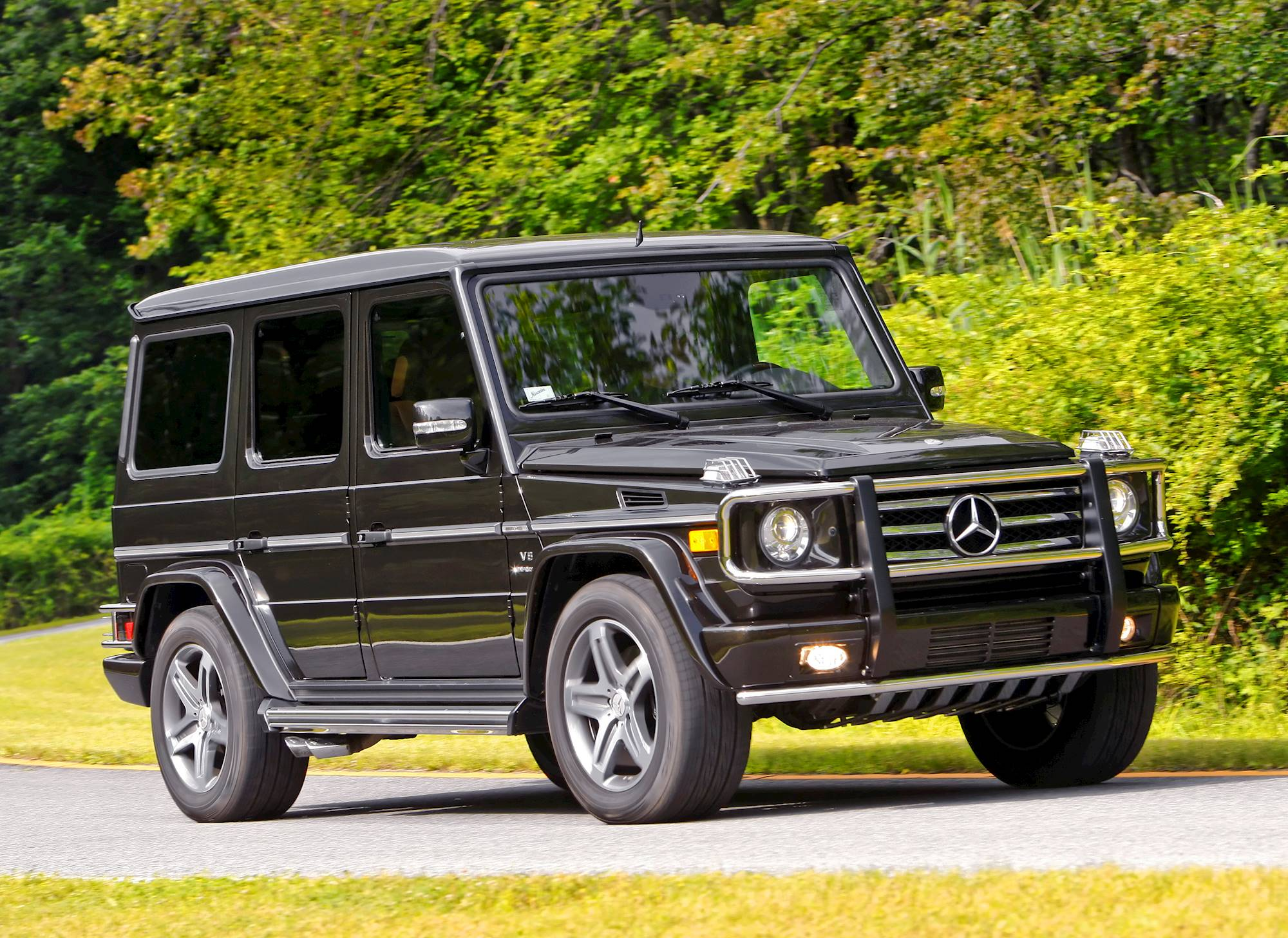 2007 Mercedes Benz G55 AMG Base 4dr All wheel Drive 4MATIC 5 spd