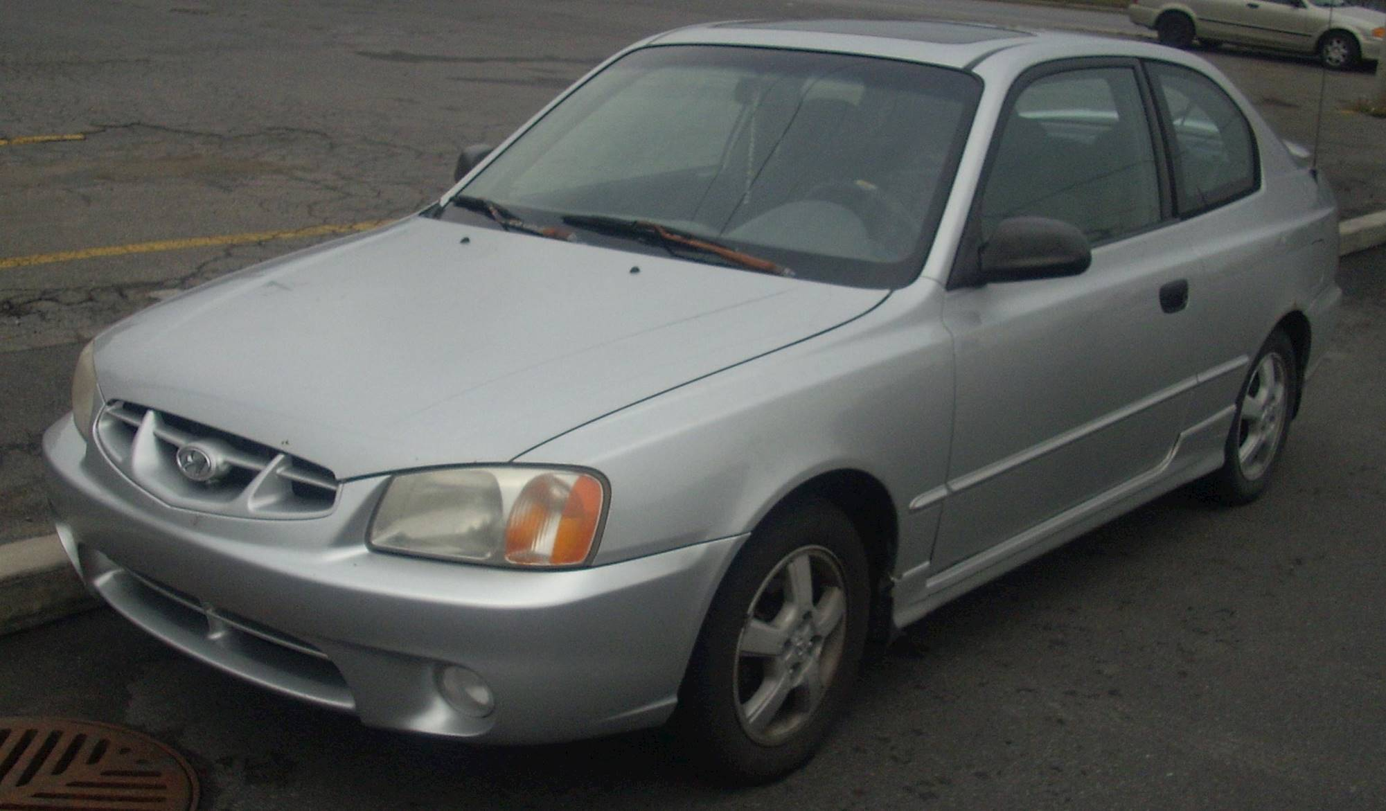2002 Hyundai Accent Gs 2dr Hatchback 1 6l Auto Rh Carspecs Us 2002 Hyundai  Accent Manual