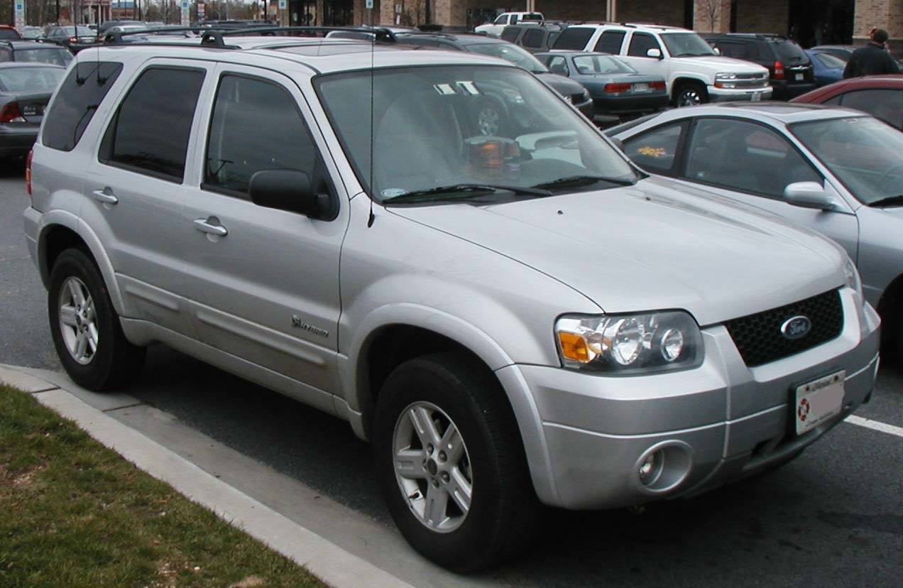 Ford Escape Hybrid Gas Mileage 2006