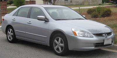 04 Honda Accord Ex