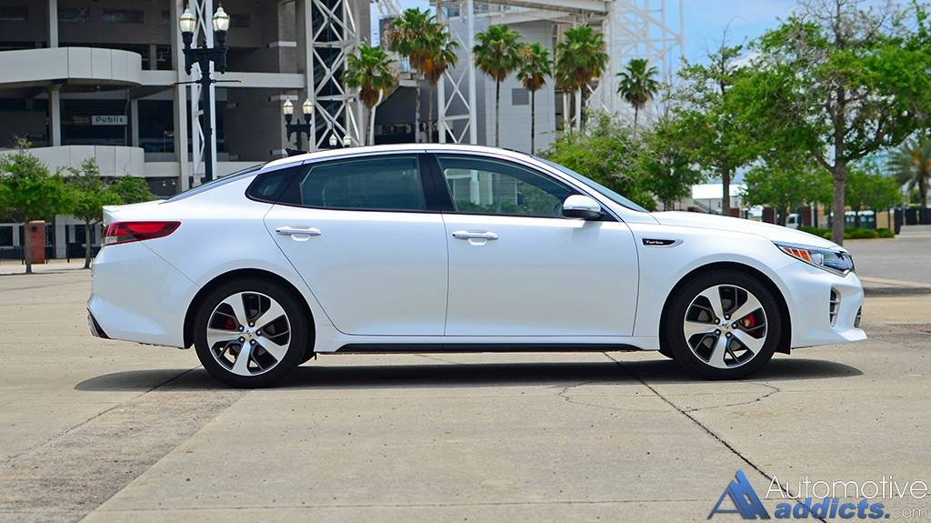 2016 Kia Optima 4-Door Sedan EX