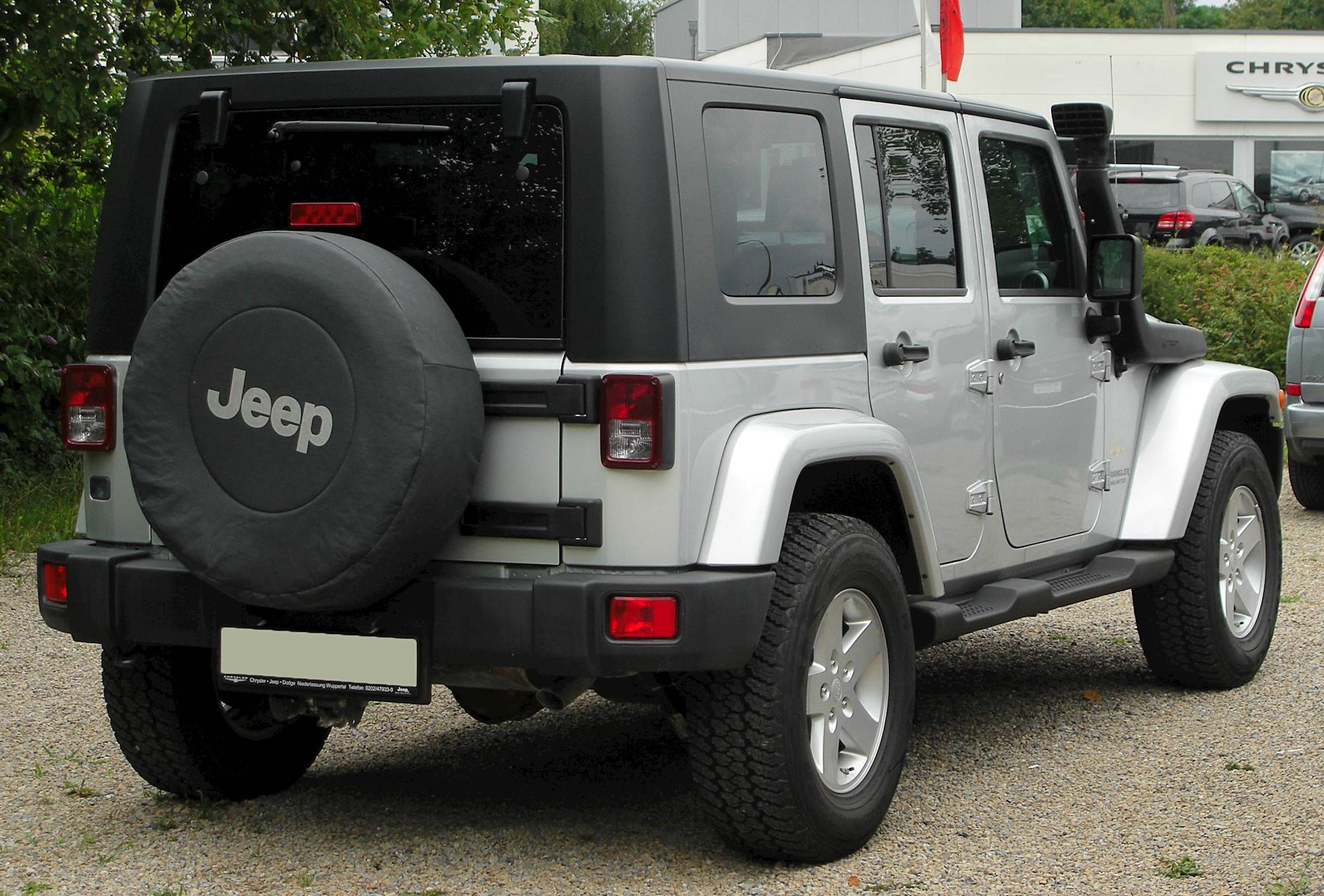 2014 Jeep Wrangler Unlimited 4WD 4 Door Altitude